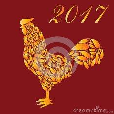 gallo-de-la-historieta-con-las-plumas-del-fuego-rojo-77946209